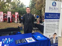 Balboa Capital's recruiting booth at the California State University, Bakersfield Career Day 2015. #job #career #fair #calstate #bakersfield #balboacapital