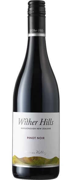 New wine: Wither Hills Pinot Noir 2008 (Marlborough, New Zealand) Introductory price €17.60
