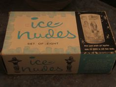 Ice Nudes by Dorcy Plus Original Box 1960 Era by LeftoverStuff