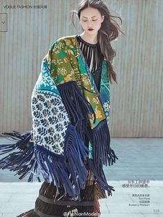 Vogue China November 2015, Cong He 賀聰