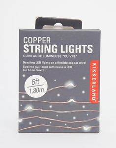 Image 1 of Copper String Lights