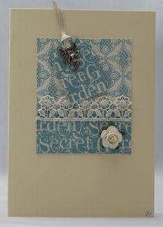 Handmade Card - Fairytale Garden £2.50