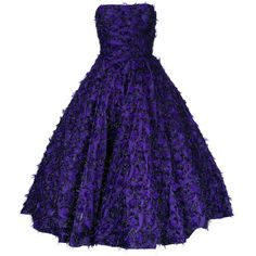 Bambah Violeta midi gown ($1,825) ❤ liked on Polyvore featuring dresses, gowns, purple, blue midi dress, mid calf dresses, blue gown, mid calf evening dresses and blue ball gown