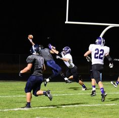 Photo courtesy of Casey Mceachern Taylor Mceachern made a one-handed, Odell Beckham Jr.-esque grab to clinch a homecoming win.