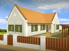 Simple House, House Plans, Shed, Outdoor Structures, Cabin, Traditional, Mansions, House Styles, Outdoor Decor