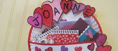 Valentine Holder: Crafts that kids of any age can make for school