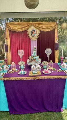Princess Jasmin Birthday Party Ideas   Photo 6 of 36   Catch My Party
