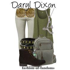 """Daryl Dixon"" by fofandoms on Polyvore"