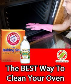 "How To Naturally Clean Your Oven-my mother needs this;) ""mom get a Pinterest!!!"""