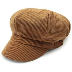 Outdoor Keep Warm Corduroy Newsboy Hat (1.495 ARS) ❤ liked on Polyvore featuring accessories, hats, gatsby cap, newsboy hats, apple cap, corduroy hat and newsboy caps