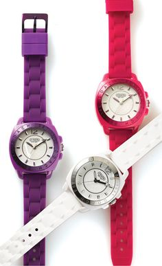 Fun watches from Coach