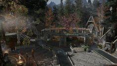 Vídeo Game The Elder Scrolls V: Skyrim  Skyrim Whiterun Papel de Parede