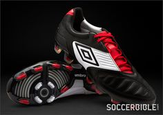 419ed571d1814d Umbro Football Boots, Black White Red, Black Boots, Color Combos, Cleats,  Soccer, Colour Combinations, Football Boots, Hs Football. SoccerBible