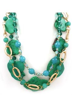 Beautiful multi strand necklace