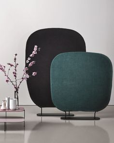 Fabric room divider SHADE by Saba Italia | #design Marco Zito