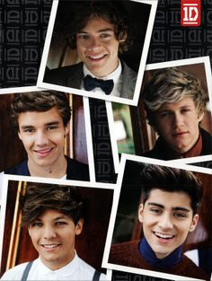 One Direction for Take Me Home Poster Book