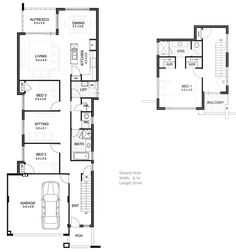narrow lot floor plans floor inc plannarrow lot house narrow lot lakefront home plans lot home plans ideas picture
