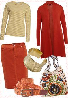 Orange Essential by brigitte von Boch #bevonboch #knit
