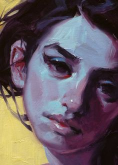 """Cool Shade"" (close-up), John Larriva art"