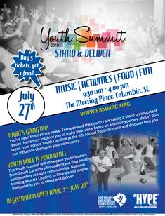 Youth Summit July 27