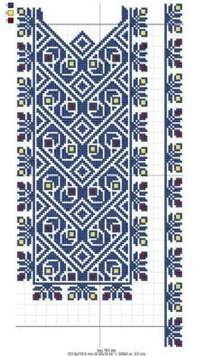 Cross Stitch Borders, Cross Stitch Designs, Cross Stitching, Cross Stitch Patterns, Needlepoint Patterns, Embroidery Patterns, Ribbon Embroidery, Cross Stitch Embroidery, Knitting Stitches