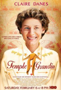 Directed by Mick Jackson. With Claire Danes, Julia Ormond, David Strathairn, Catherine O'Hara. A biopic of Temple Grandin, an autistic woman who has become one of the top scientists in the humane livestock handling industry. Julia Ormond, Claire Danes, Cinema Tv, Films Cinema, Vanessa Redgrave, Jackson, See Movie, Movie Tv, Movie Reels