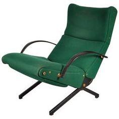 Lounge Chair Model P40 by Osvaldo Borsani for Tecno, Italy, 1956