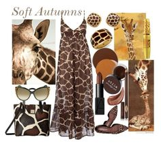 Animal Inspirations - Soft Autumn by prettyyourworld on Polyvore featuring Donald J Pliner, Dooney & Bourke, Roberto Cavalli, NARS Cosmetics, Gucci, Charlotte Tilbury, Maybelline, Maxwell Dickson and Dorothy Perkins