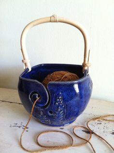 Earring Bowl Jewelry Bowl Jewelry organizer by redhotpottery
