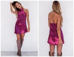 New 2016 Women Summer Party Dresses satin slip Backless Short Sexy Fashion Halter Club Bodycon Beach Dress Vestidos