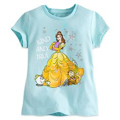 Belle and Friends Tee for Girls