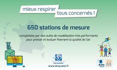 #Journéeair : En Aquitaine +10 000 données/jour sont relevées 24h/24 sur 30 stations de mesures