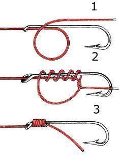 JCT❤️. Alternate Snell Knot based on Uni Knot.