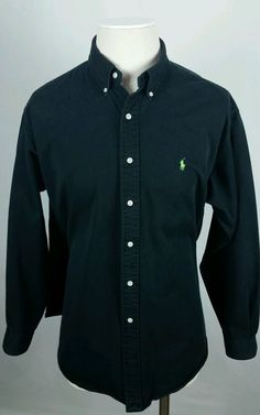 ralph lauren polo classic fit xxl ralph lauren black long sleeve shirt