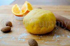 La pasta frolla all'arancia