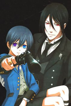 Ciel's gotta gun. Grell's on the run. Sebastian's number one. *tune to Elmo's Got a Gun*