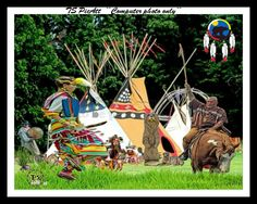 New TS PicArt to be auctioned off at the Gathering of the Tribes Pow Wow 2015 Buy a lot of tickets to win