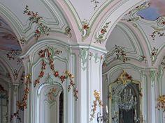 Interior of the Esterházy Palace, Fertőd