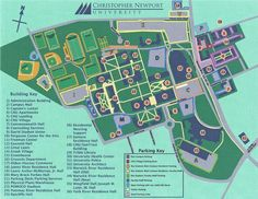 Cnu Campus Map 18 Best CNU images | Buildings, Colleges, Newport Cnu Campus Map
