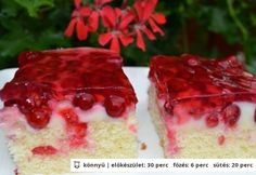 Hungarian Cake, Hungarian Recipes, Wonderful Recipe, Cheesecake, Cooking Recipes, Ethnic Recipes, Foods, Cakes, Food Food