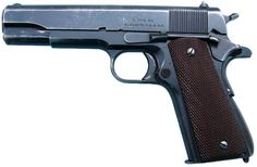 Singer 1911A1 - S. MFG. CO., ELIZABETH, N.J., U.S.A. Name a firearm. This is the one I want most. And I want the patina, too.