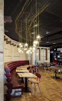 Nando's Loughton in Essex by Buckley Gray Yeoman #bar #cafe #restaurant