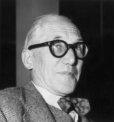 Le Corbusier was born Charles Edouard Jeannerct on October 1887 Le Corbusier, Tadao Ando, Charles & Ray Eames, Portraits, Built Environment, Work Looks, Modern Architecture, Eyewear, Designers