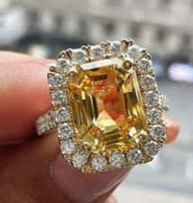 Yellow Diamond Rings, Sapphire, Diamonds, Engagement Rings, Pearls, Crystals, Jewelry, Enagement Rings, Wedding Rings