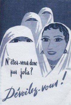 Colonialist propaganda in Algeria