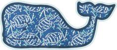 Vineyard Vines Sea Life Batik Whale