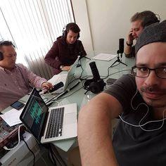 Primeira transmissão ao vivo de nossa rádio cristã na Espanha. Nunca imaginei pero aqui estoy (view on Instagram http://ift.tt/2nyumOt)