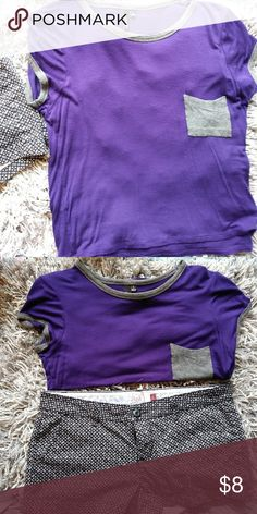 ULTRA FLIRT PURPLE CROP TOP Pair this supe cute crop top with a patterned short. Great condition! Only used once! NO TRADES.THANKS! I AM VERY OPEN TO REASONABLE OFFERS! TRY ME! ALL OF MY ITEMS ARE STORED IN A NON-SMOKE PET FREE HOME! BUNDLE AND SAVE EVEN MORE! THANKS FOR CHECKING OUT MY CLOSET! Tops Crop Tops