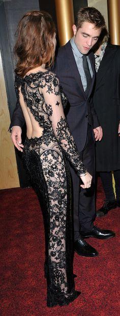 Kristen Stewart and Robert Pattinson at the Breaking Dawn 2 premiere in London - November 2012