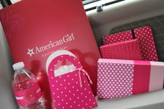 American girl party favors